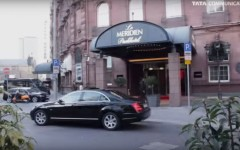 Das Le Meridian Park Hotel Frankfurt, ein Dreh von InZwischenZeit:Filme