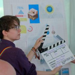 Kurzfilm Dreh über den Wolken