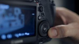 Eine Detailaufnahme eines Kamerabildschirms, Ein Dreh von InZwischenZeit:Filme