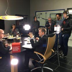Filmproduktionen Interview mit Wilfried Neuschäfer von Neuschäfer Elektronik, ein Dreh von InZwischenZeit:Filme