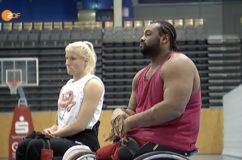 Rollstuhl Basketball
