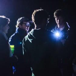 Das Team von InZwischenZeit:FIlme bei einem Nacht-Dreh