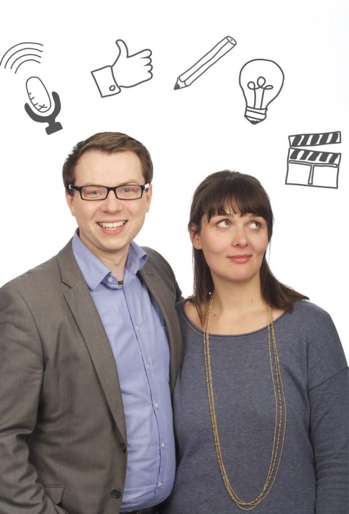 Alicia-Eva Rost und Rafael Bujotzek