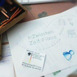 Mehrere Zeichnungen für eine Legetrick Animation, InZwischenZeit:Film