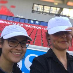 Das Team von InZwischenZeit auf einem Dreh im Sommer